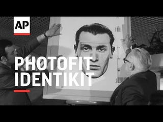 Photofit Identikit - 1970   The Archivist Presents   #304