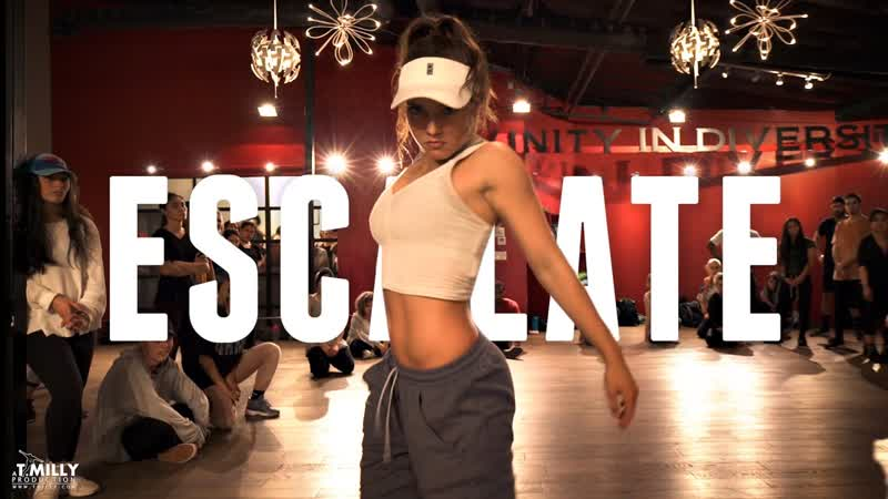 Tsar B Escalate Choreography by Alexander Chung ft Jade Chynoweth Filmed by @TimMilgram