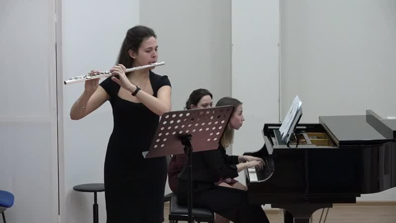 Ольга Чернова. Концертная пьеса для флейты и фортепиано