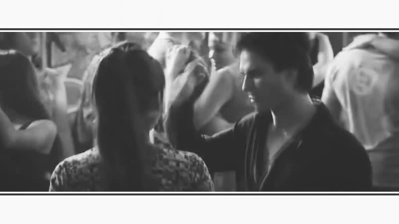 Дневники вампира The Vampire Diaries Деймон Танцы до утра