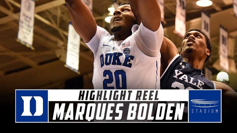 Marques Bolden Duke Basketball Highlights 2018 19 Season Stadium