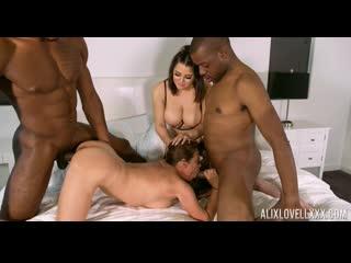 Aiko Liezl & Alix Lovell - In 4 Way Interracial Surprise!