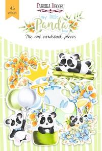Набор высечек коллекция My little panda boy 45 шт 170,00 р. В наличии 1 шт.