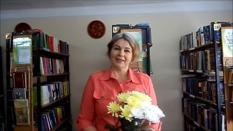 Светлана Владимировна Шкаброва, читательница библиотеки им.А.П.Чехова