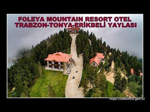 FOLEYA MOUNTAİN RESORT ERİKBELİ YAYLASINDA DOĞAL YAŞ YERLER TRABZON