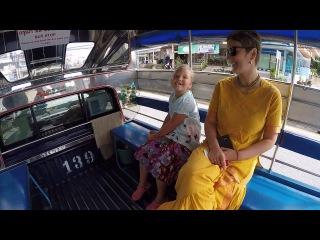Паттая, октябрь 2017. Обзор города из тук-тука, смешные тайские таксисты, что едят в...