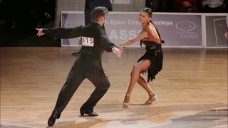 Alexander Chernositov - Arina Grishanina, USA   Assen 2017 - WDC AL LAT - R5 R