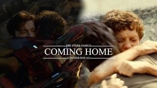 (Marvel) Tony Stark & Peter Parker   A Stark Family AU   Home