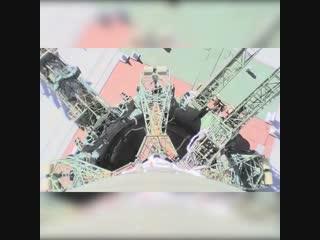 Авария ракеты-носителя Союз-ФГ попала на видео