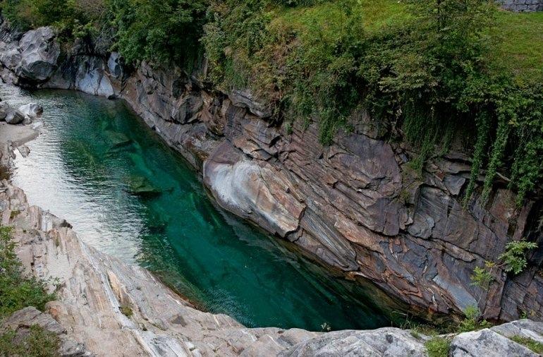 Верзаска — самая прозрачная река в Швейцарии, изображение №7