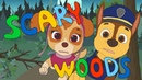Scary woods Kids songs PAW patrol Chase and Skye