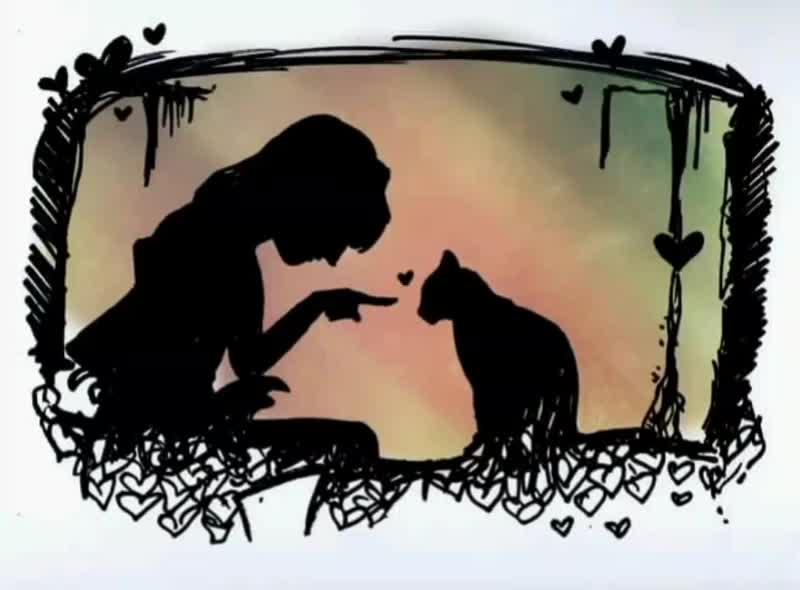 Victoria Rain - Hello ❤️🐈 (посвящается моей любимой кошечке Багирочке (любовь, кошка, кошки, домашние питомцы, навсегда, ты найд