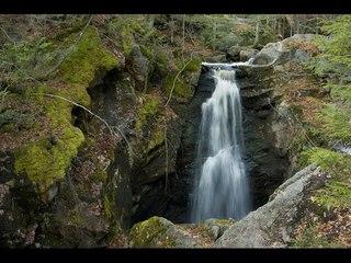 Hike New England   Royalston Falls, Royalston, MA (Ultra 4K HD)