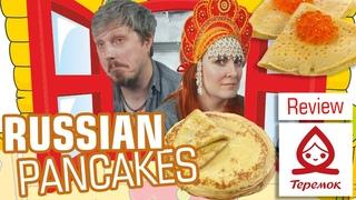 Russian Pancakes Review | Fast food Teremok