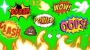 Comic Green Screen Best 4K Effects SFX Free Download Link