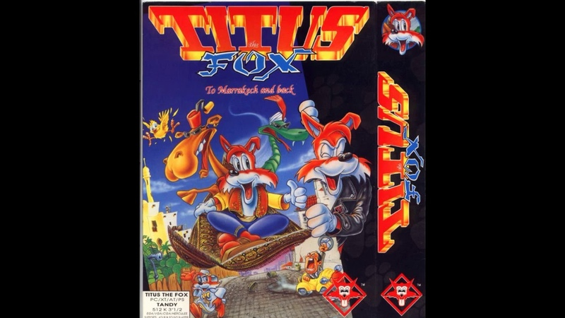 Old School Amiga Titus the Fox full ost soundtrack