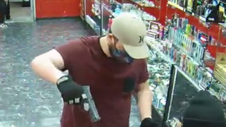 Aggravated robbery at a vape shop at the 12000 block of the Northwest Freeway. Houston PD #950082-21