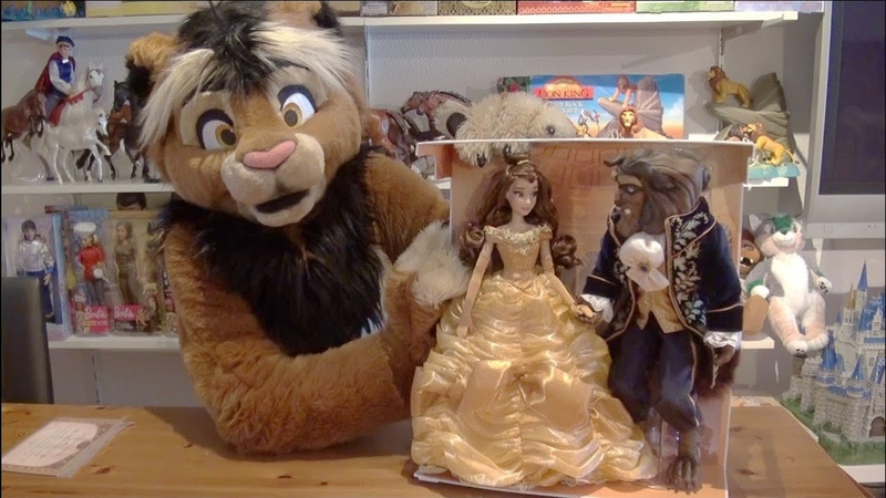 Kitwana's Toys 57 2016 Disney Store Beauty and the Beast Limited Edition Platinum 17 Doll Set