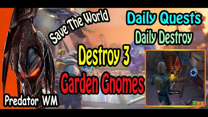 Destroy 3 Garden Gnomes in successful missions ( often found hidden in every zone )