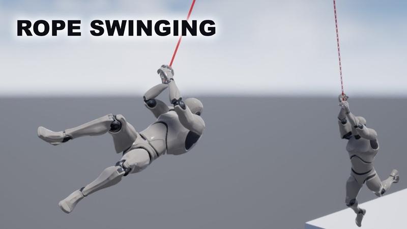Unreal Rope Swinging System Tutorial