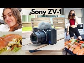 Новая камера Sony ZV-1, мои будни в Финляндии🇫🇮 / тренировки