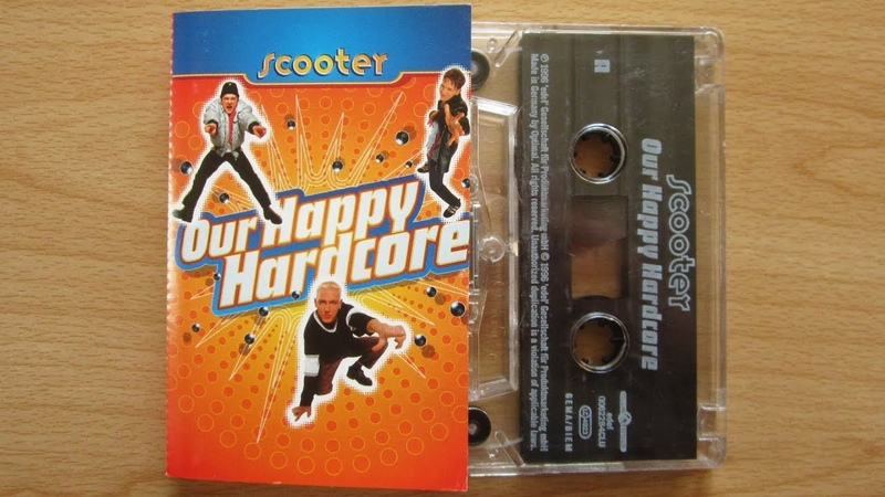 Scooter Our Happy Hardcore unboxing cassette tape