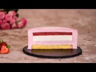 Клубничный Муссовый Торт