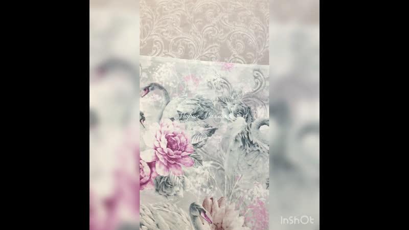 Постельное белье Мария Малмыж Танец лебедей