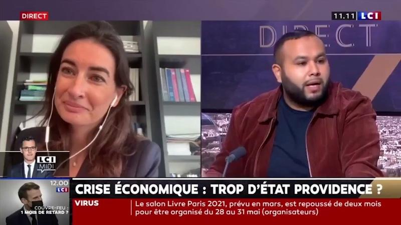 Anasse Kazib vs Agnès Verdier Molinié sur LCI