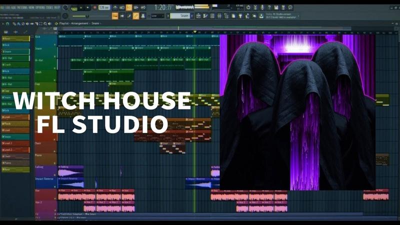 Witch House in FL Studio 20 FLP
