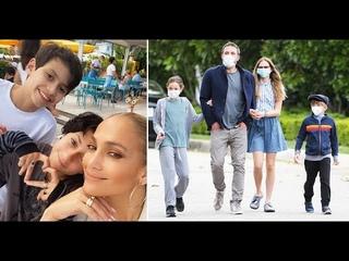 Дети Дженнифер Лопес Высказались о Её Воссоединении с Беном Аффлеком