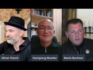 Mario Buchner über Querdenken mit  Oliver Flesch und Hansjörg Müller