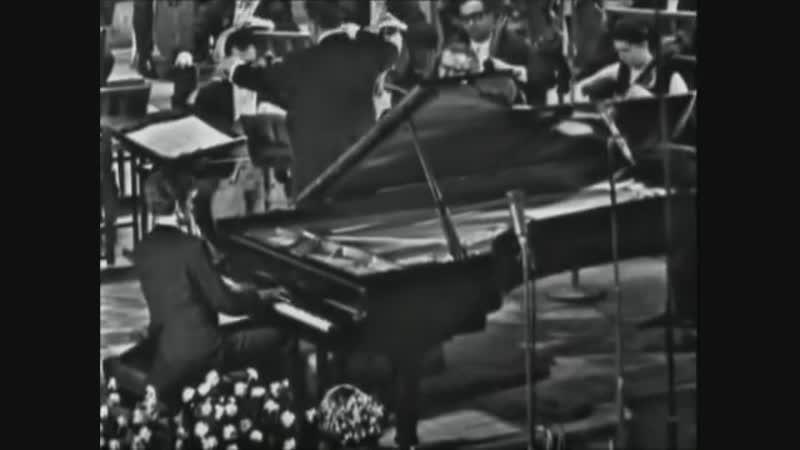 Ван Клиберн. Концерт № 2 для фортепиано (С. Рахманинов), (1972)