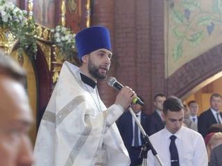 Проповедь иерея Дионисия Гриценко в праздник Вознесения Господня, 6 июня 2019 года.