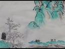 青绿山水技法 Demo painting blue and green shansui