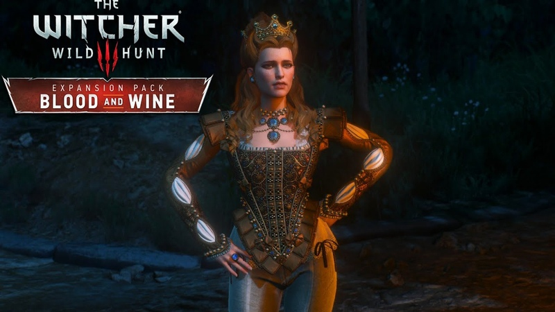 The Witcher 3 DLC Blood and Wine 70 ⇆ АНРИЕТТА