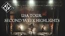 Machine Head - USA TOUR: SECOND WEEK HIGHLIGHTS 2020