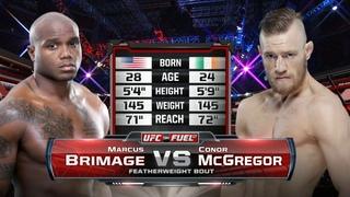 Conor McGregor vs Marcus Brimage