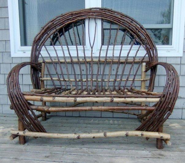 Садовая мебель и предметы декора для дачи из...