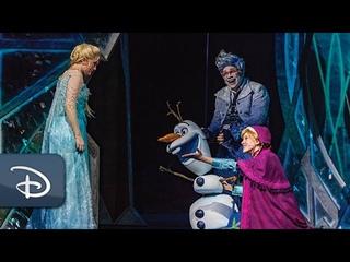 Disney Cruise Line's 'Frozen, A Musical Spectacular'   #DisneyMagicMoments