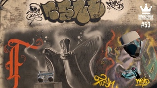[ Kingspray Graffiti ] EP53: Painting online with other graffiti artist in virtual reality
