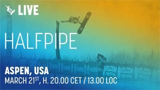 World Cup   Halfpipe   Aspen (USA)   FIS Snowboard