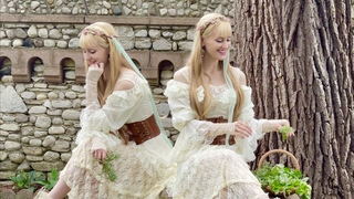 Scarborough Fair (Full Version) - Harp Twins, Camille and Kennerly