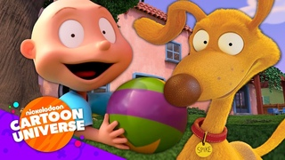 NEW Rugrats Adventures with Tommy and Spike! 🍼  Nickelodeon Cartoon Universe