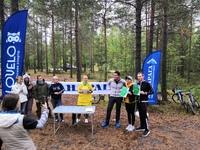 При поддержке МАНАРАГИ в Сургуте состоялся турнир по велоориентированию. Участие приняло 16 команд (состав команды парень + девушка), которым пришлось за указанное время выполнить максимум заданий: