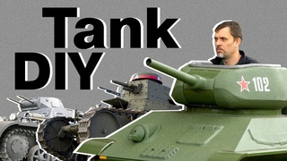 How to make homemade tanks and make yourself happy