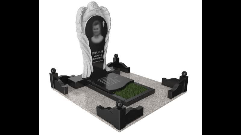 Изготовление памятника Ангел по индивидуальному заказу