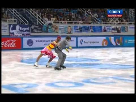 Anzhelika KANIVETS Alexei CHIZHOV 2014 FD Russian Nationals