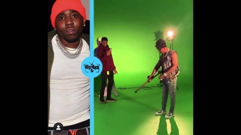 YFN Lucci Accidentally SHOOTS His GUN While Performing 😳 His Homies Shake The Spot So FAST 😂