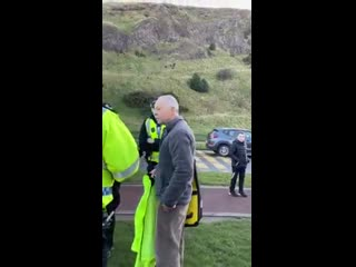 Professor Richard Enos Arrested in Edinburgh